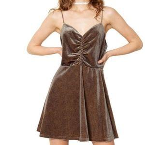 The East Order Tika Fit & Flare Mini Dress